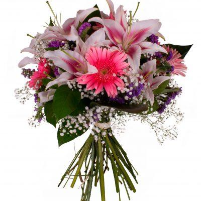 ramo-liliums-y-gerberas-elegante-ramo-en-tonos-rosados