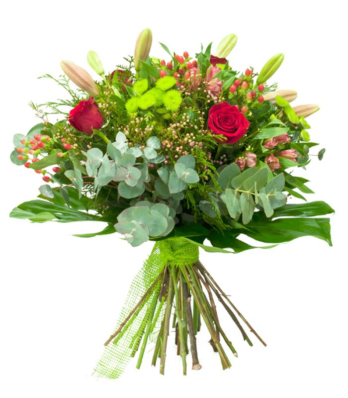 Ramo De Flores Aniversario Variado Floristeria Denis